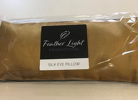 Silk Healing Eye Pillow Gold