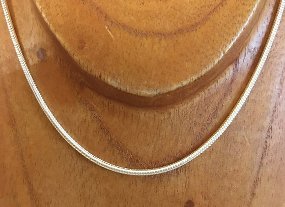 16inch Snake Chain 2mm Silver