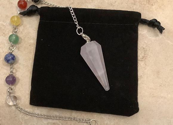 Pendulum Bracelet Rose Quartz