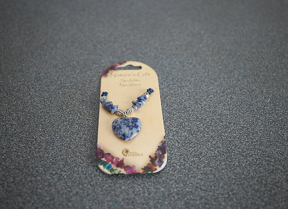 "Sodalite Necklace 18""-20"""