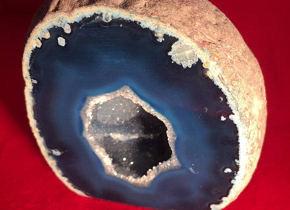 Agate Geode Blue