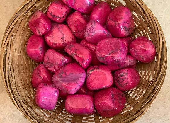 Pink Howlite