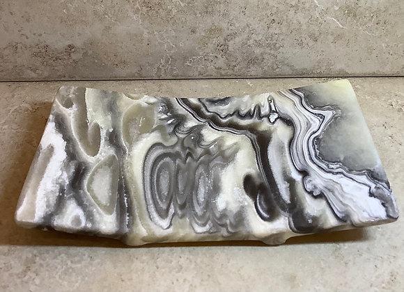 Oblong Onyx Soap Dish