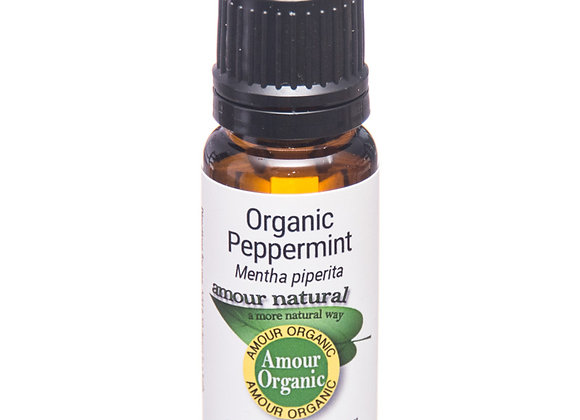 Organic Peppermint Amour Natural Essential Oil (10ml)