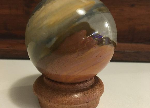 Polychrome Jasper Sphere