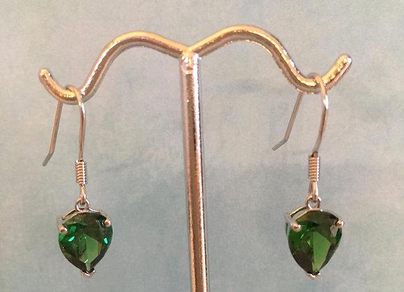 Siberian Emerald Earrings