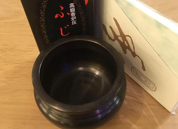 Brass Cauldron with White Ash