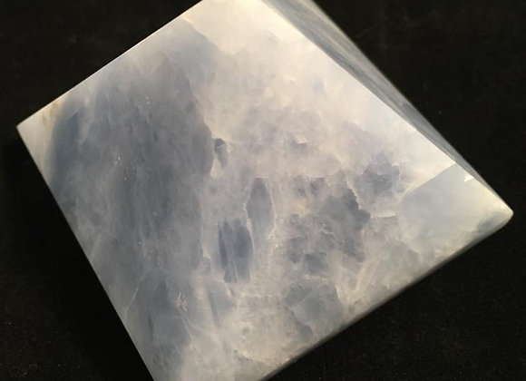 Blue Calcite Pyramid 6cm x 4.5cm