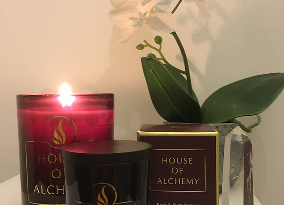 Rose & Frankincense Travel Size Candle