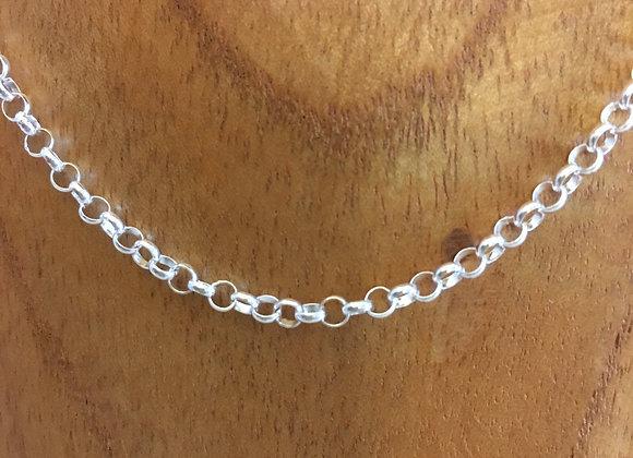 16inch Silver Belcher Chain