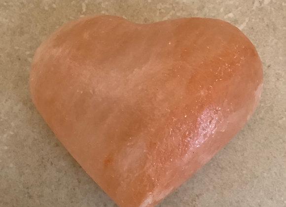 Himalayan Salt Massage Heart