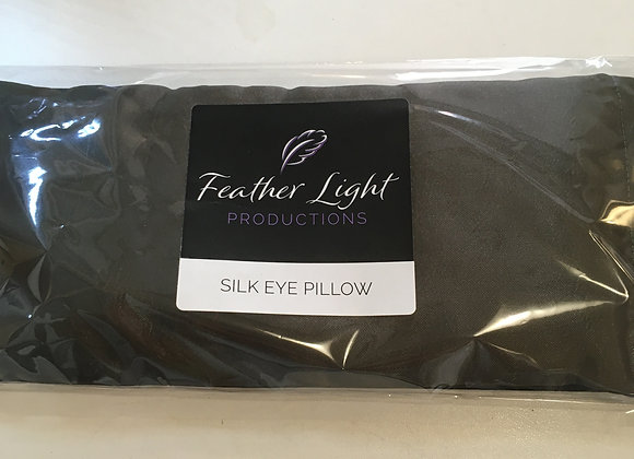 Silk Healing Eye Pillow Dark Green