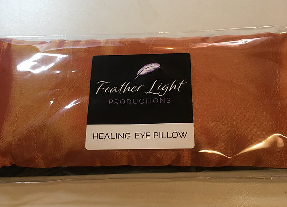 Silk Healing Eye Pillow Burnt Orange