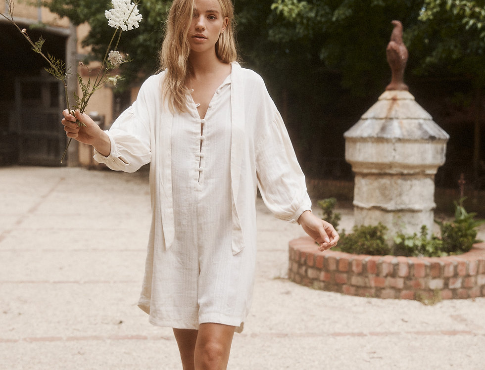 Billie Playsuit - Natural