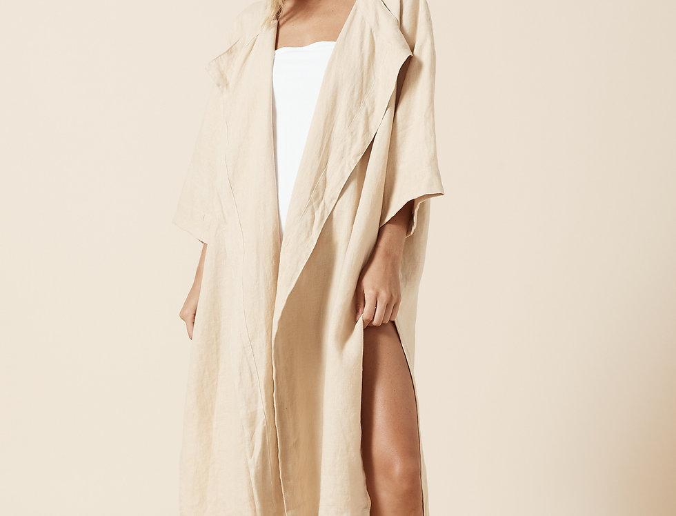 Arden Kimono -Sandstone