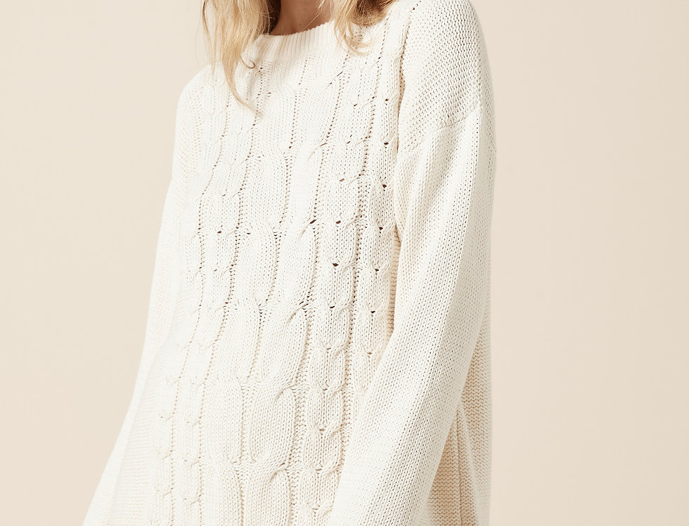 Arlo Knit - Cream