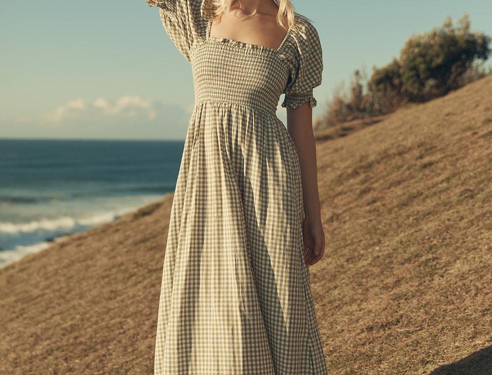 Amelie Maxi - Gingham
