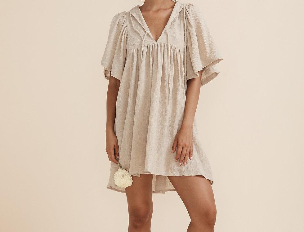 Clover Mini - Crinkle Linen