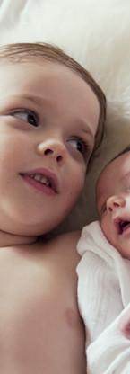 Wenn die Geschwisterliebe erst wachsen muss. Bildquelle: ©Wix