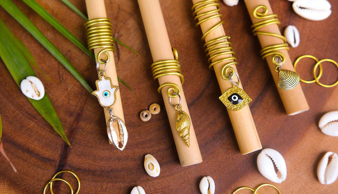 Mali Pah braid rings, braid accessories, braid jewelry, dreadlock jewelry, hair loc jewelry, loc jewels, locs jewelry, loc jewelry, dreadlock accessories, hair jewelry for dreads, crystal loc jewelry, hair jewelry locs, hair jewelry for locs