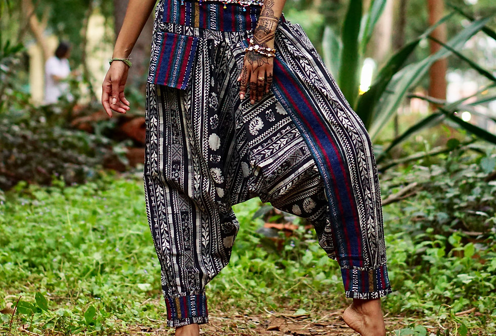 PASSIFLORA | HAREM PANTS