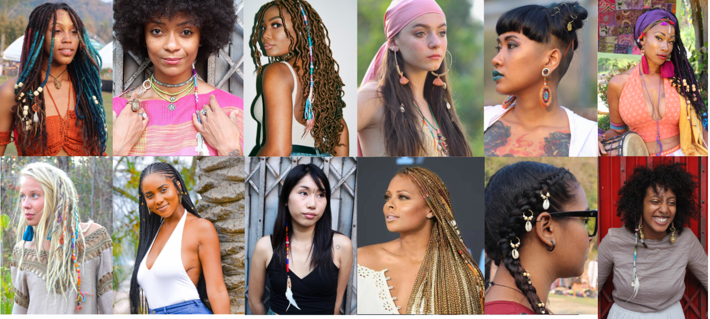 Hair accessories for all curl patterns and styles