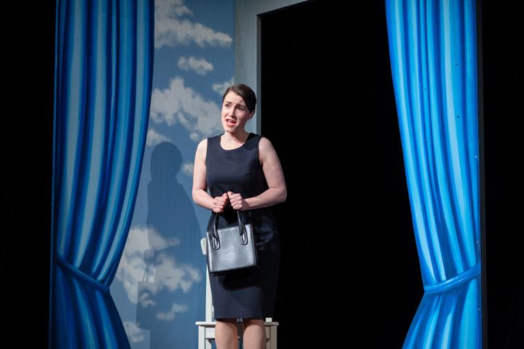 Johanna Ihrig als Mrs. P
