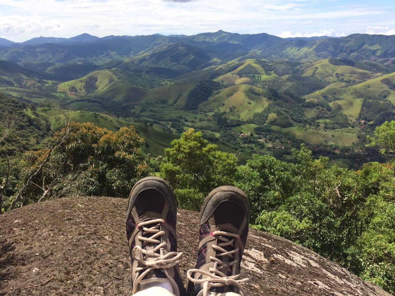 In en ontspanning in de natuur