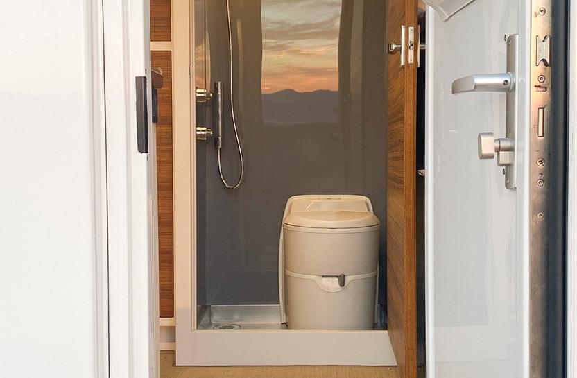 BCT Wet Bath from Door