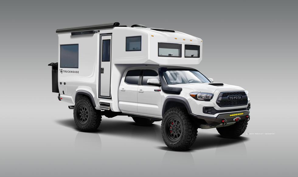 TruckHouse BCT Front Rendering