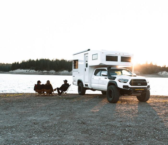 TruckHouse BCT Lake Sunset