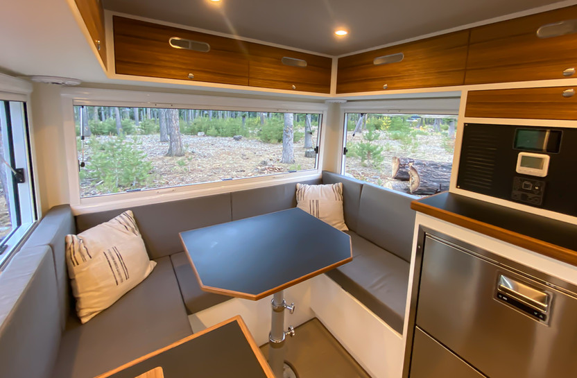 BCT Rear Dinette from Galley