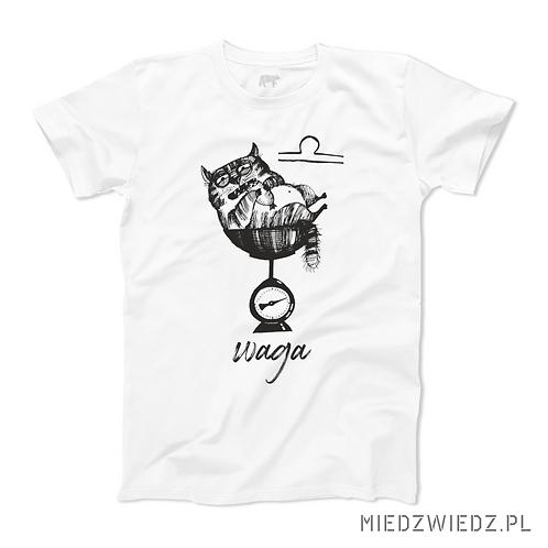 koszulka - WAGA - seria kot