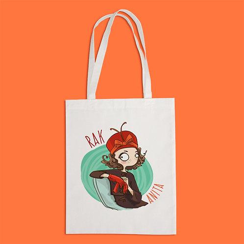 torba ekologiczna - RAK - seria kreskówka