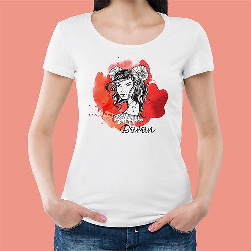 koszulka - BARAN - seria akwarela