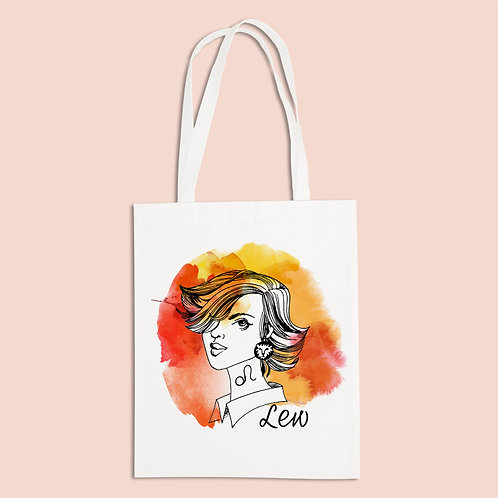 torba ekologiczna - LEW - seria akwarela
