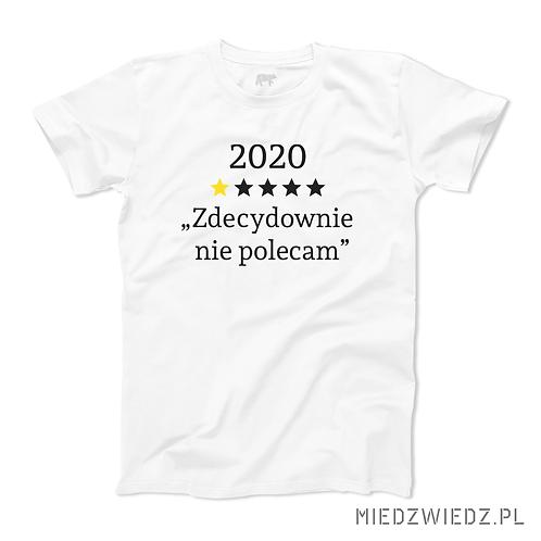 Koszulka - 2020 NIE POLECAM
