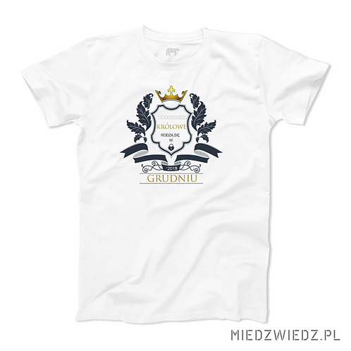 koszulka - KRÓLOWIE RODZĄ SIĘ W...