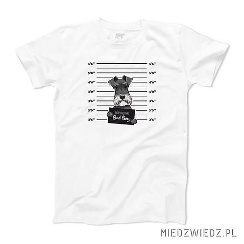 koszulka - PIES FOKSTERIER - BAD BOY
