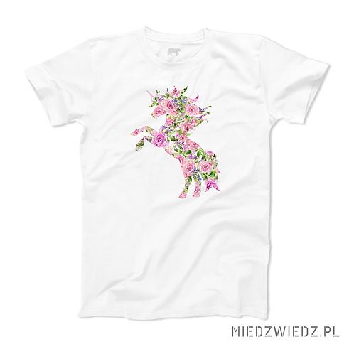 koszulka - RÓŻANY JEDNOROŻEC