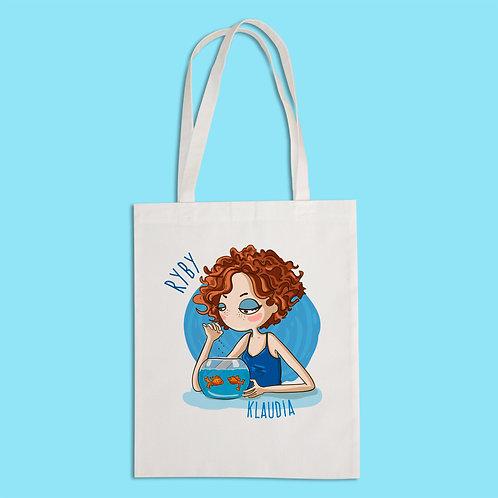 torba ekologiczna - RYBY - seria kreskówka