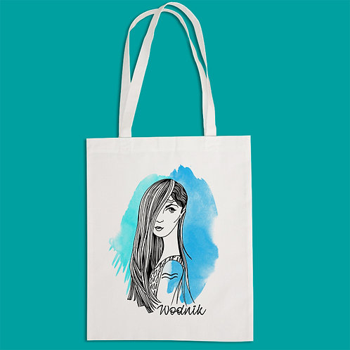 torba ekologiczna - WODNIK - seria akwarela