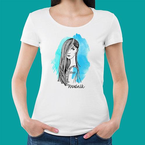 koszulka - WODNIK - seria akwarela