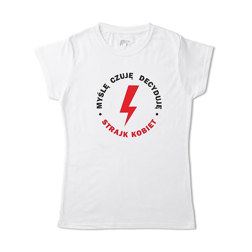 Koszulka - MYŚLĘ CZUJĘ DECYDUJĘ