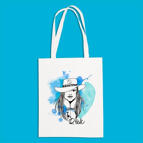 torba ekologiczna - RAK - seria akwarela