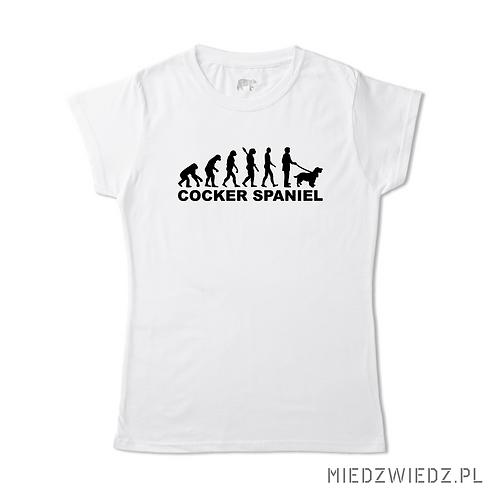 koszulka - EWOLUCJA COCKER SPANIEL