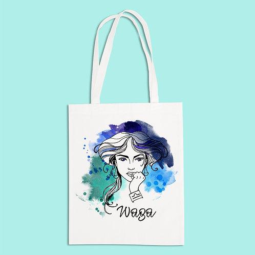 torba ekologiczna - WAGA - seria akwarela