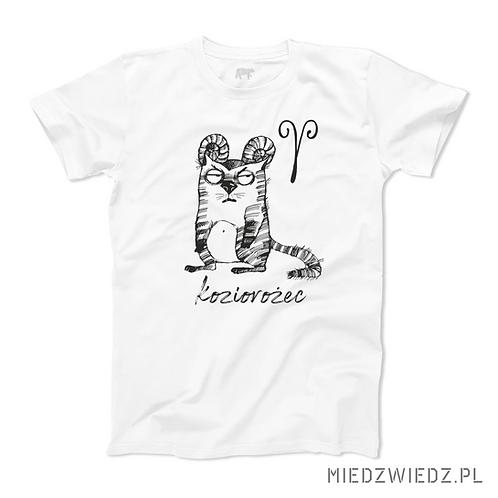 koszulka - KOZIOROŻEC - seria kot
