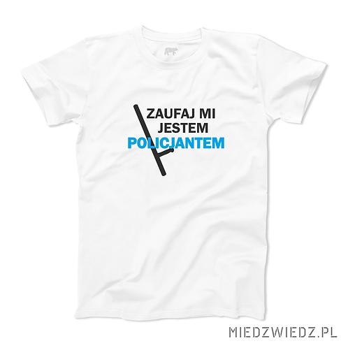 Koszulka - ZAUFAJ POLICJANTOWI