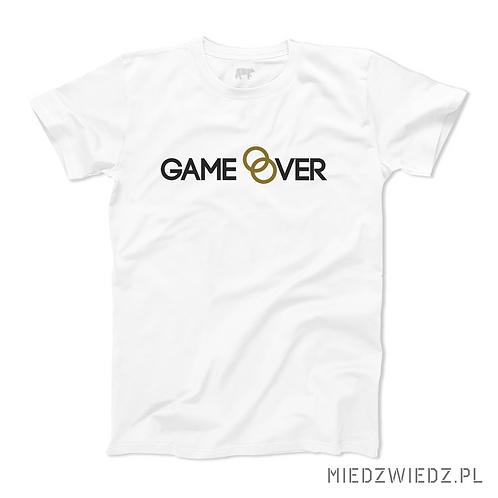 koszulka - GAME OVER - KAWALERSKI